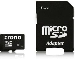 CRONO mikro SDHC Class 4 4GB 1x adapter (CRC1/4GBA)