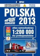 Polska. Atlas samochodowy dla profesjonalistów 1:200 000, wyd.2013 - praca zbiorowa - Dostępne od: 2012-11-08