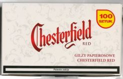 Philip Morris Gilzy Chesterfield 100 Red