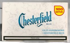 Philip Morris Gilzy Chesterfield 100 Blue