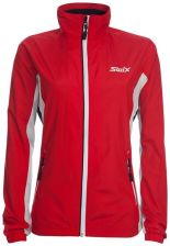 Swix Track bunda damska Red/white M