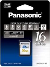 Panasonic SDHC Class 4 16GB (RP-SDLB16GAK)