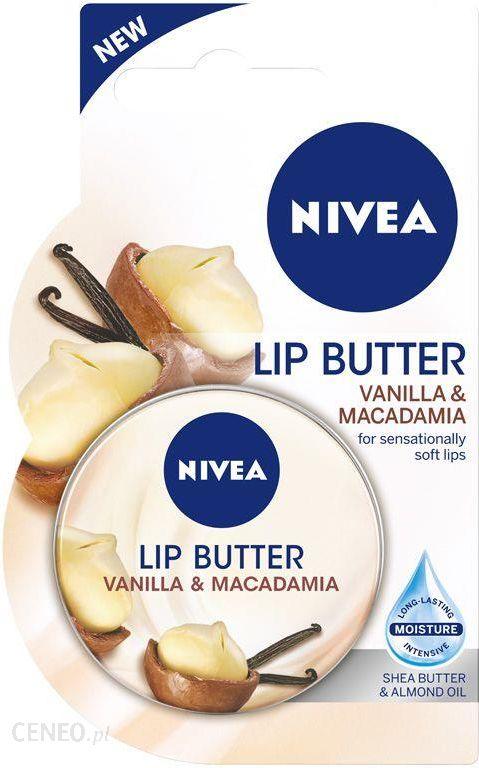 NIVEA Balsam do Ust Vanilla & Macadamia  16,7 g
