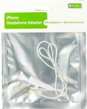 4world (05405) iPhone audio adapter z mikrofonem Jack 3.5mm