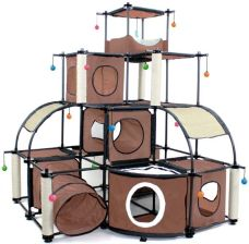SportPet Designs Kitty City Tunnel Tower- tunel z wieżą  1szt. SP0301