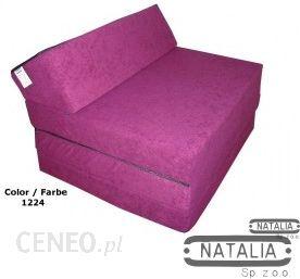 Natalia fotel materac składany FM 1224 (fioletowy)