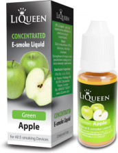 Liqueen green apple low (11 mg/ml) concentrated 10 ml