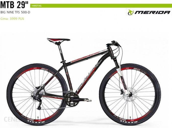 Merida Big Nine Tfs 500-D 29