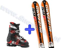 Roces Zestaw Blizzard Gs Iq Jr + Iq 7 + Buty Idea 2013