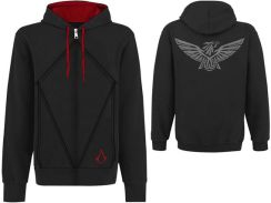 Bluza Assassin's Creed III Hooded Sweater Desmond Eagle Czarna - 0