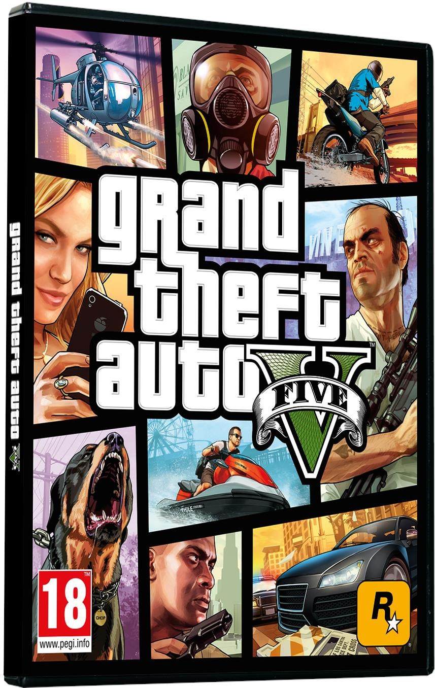 Grand Theft Auto V PL (Gra PC)