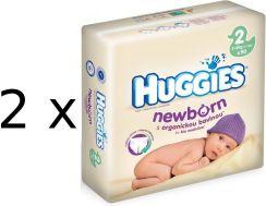 Huggies Pieluszki Newborn 2 Mega 2x90szt