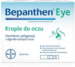 Bepanthen Eye Krople Do Oczu 20X0,5Ml - 0