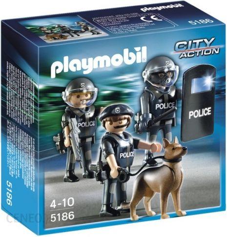 Playmobil Brygada Antyterrorystyczna 5186