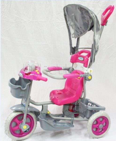 Skan Rower Trójkołowy RO120002R - Różowy