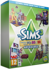 The Sims 3 Szalone Lata 70. 80. i 90. (CD-Key) - 0