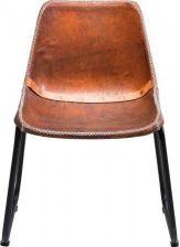 Kare Design Modern Vintage Vintage krzesło skórzane brązowe (77476) - 0