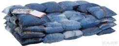 Kare Design Fashion Rebels sofa Jeans Cushions 2 Osobowa (76352)