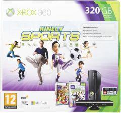 Microsoft Xbox 360 320GB + Kinect + K. Adventures + K. Sports + Lego Star Wars 3 (zdrapka)