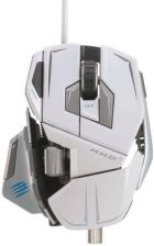 Mad Catz CYBORG M.M.O. 7 GAMING MOUSE WHITE (MCB437130001/04/1) - 0