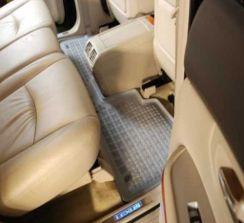 Rezaw gumowe korytkowe szare do: Ford Galaxy 5 siedzeń 1995-04/2006 (przód, środek) (D00103A/S)