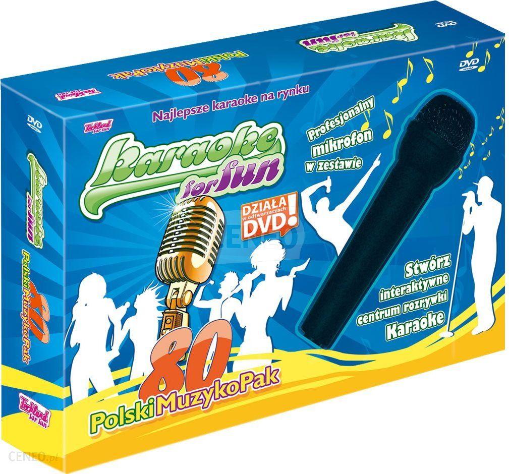 Gry Komputerowe Karaoke For Fun Polski Muzykopak Gra