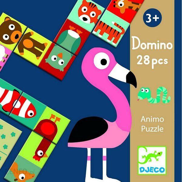 Djeco Domino Puzzle Animo Dj08165