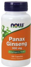 NOW FOODS Panax Ginseng 250 kaps.