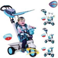Smart Trike Pojazd/Rowerek 4W1 Dream Touch Steering Niebieski