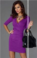 Mucado Sukienka 3456801 (fioletowy)