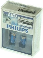 LED W5W PHILIPS Blue Vision 6000K, 2 sztuki