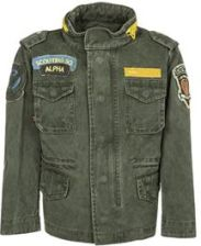 Alpha Industries AIR FIELD Kurtka jeansowa oliwka 131703 - 0