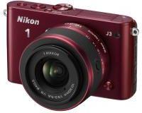 Nikon 1 One J3 + 10-30mm bordowy
