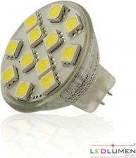 Ledlumen Mr11 Gu4 12leds SMD 12V WW 128969079