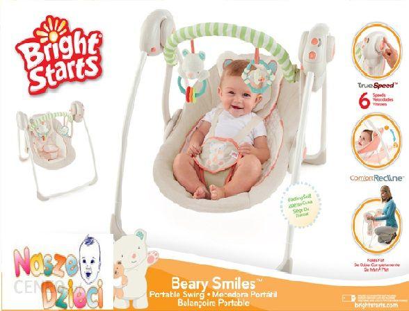 Bright Starts 60122 Huśtawka Miś