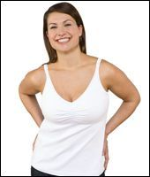 Top Bravado Essential Nursing Bra Tank White
