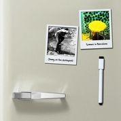 DOIY Design Magnetyczne ramki do zdjęć 9x11cm białe