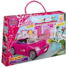 Mega Bloks Barbie - Kabriolet Barbie 80223