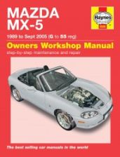 Mazda MX-5 (89 - Sept 05) G to 55 - 0
