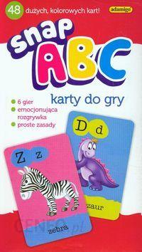 Adamigo Snap ABC karty do gry