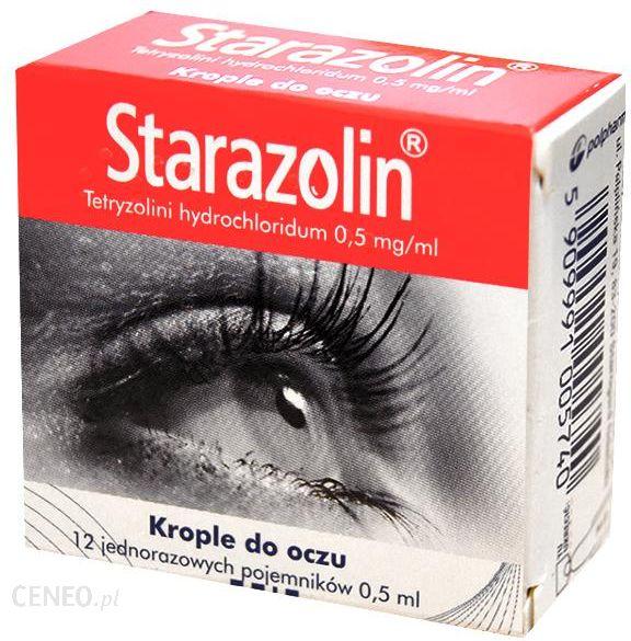 Starazolin Krople Do Oczu 0,5 Mg/Ml 12 Minimsow X 0,5Ml