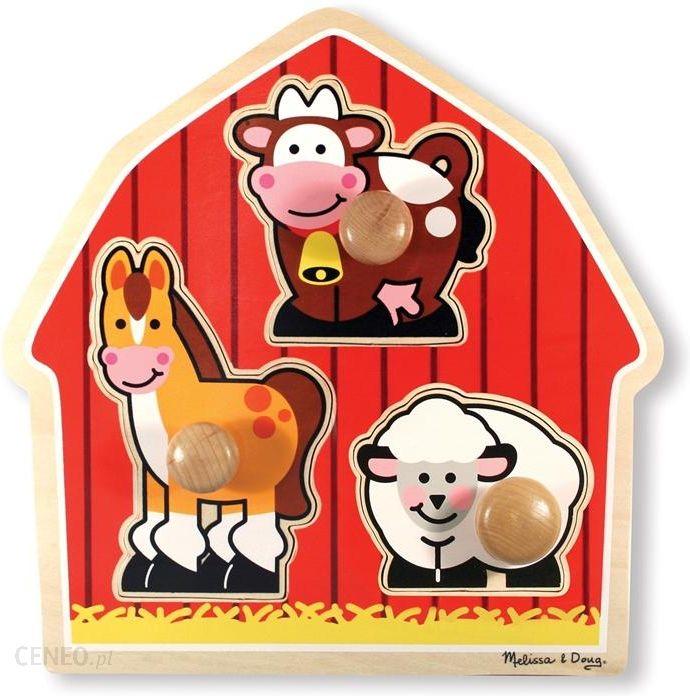 Melissa & Doug Układanka Zwierzęta Farma