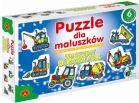 Alexander Puzzle Dla Maluszków Maszyny Budowlane 541