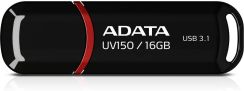 Pendrive ADATA DashDrive Value UV150 16GB (AUV150-16G-RBK) - zdjęcie 1