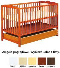 Klupś Łóżeczko Radek III Z Szufladą Sosna
