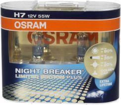 H7 OSRAM Night Breaker Plus 90%, złota wersja limitowana!