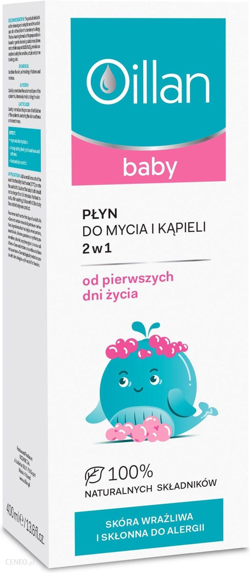 Oillan Baby Płyn Do Mycia I Kąpieli 2w1 200ml