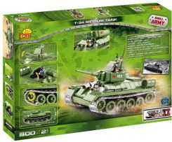 Cobi Small Army T34 Tank 400 Kl. 2438