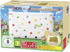 Nintendo 3DS XL Biała + Animal Crossing