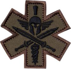 Mil Spec Monkey Naszywka Tactical Medic (Spartan) Forest Green